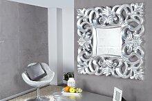 Opulenter Barock Spiegel VENICE silber antik Wandspiegel