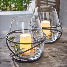 Opulentes Tisch-Windlicht