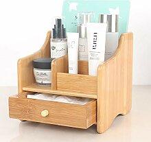 OR&DK Desktop Kosmetik Aufbewahrungsbox, Hölzerne