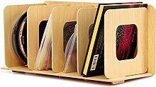 OR&DK Multi-funktionale Holz Aufbewahrung Rack,