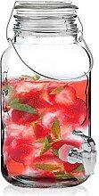 Oramics Getränkespender aus Glas mit Zapfhahn - 4