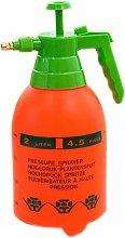 Orange Luftdruck Gießkanne Garten Werkzeugreinigung Supply 2L, 5.1x5.1x11.8