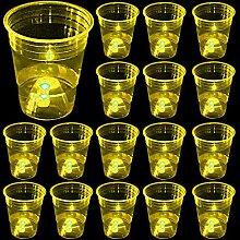 (Orange) Partybecher für Party-/Event-Spaß, 24