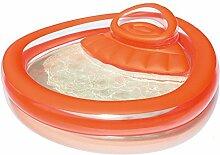 Orange-rot Großen Erwachsenen Kinder Aufblasbaren Pool Baby-Pool Kleinkinder Und Kleinkinder Badebecken Größe: 232 * 229 * 63cm (größe : B)