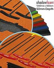Orange Shadow Schaumstoff–Werkzeug