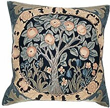Orange Tree III European Cushion Cover by 1Home