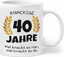 Orange9 40 Geburtstag | Geburtstagsgeschenk Tasse