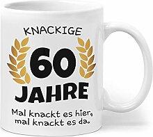 Orange9 60 Geburtstag | Geburtstagsgeschenk Tasse