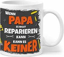 Orange9 Papa Geschenk Tasse - Wenn Papa es Nicht