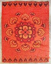 Orangenfarbener Modell Birk Teppich von Hammer