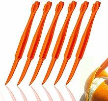 Orangenschäler Werkzeug Zitrusschäler Schneider