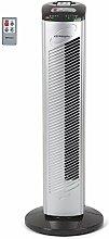 Orbegozo TWM 0975–Turm-Ventilator 42W, 3Geschwindigkeiten, programmierbar, Fernbedienung), Schwarz und Grau