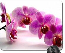 Orchideen Mauspad, Mousepad (Blumen Mauspad)