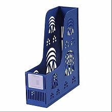 Ordner-Aufbewahrungsbox Portable Einspaltiges