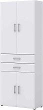 Ordner Büroschrank in Weiß 80 cm breit
