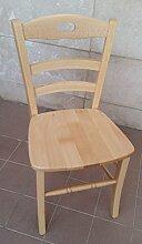 Ordnung Min. 2Stück Stuhl Sessel Paesana aus Massivholz natur Haus Restauran
