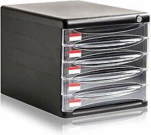 Ordnungs system Schreibtisch 5 Schubladen Desktop