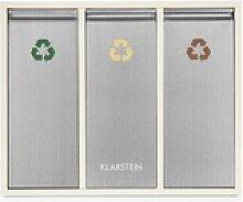 Ordnungshüter 3 Mülleimer Mülltrenner 45L (3 x