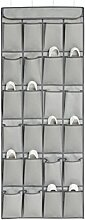 Ordnungssysteme Hängeorganizer an der Tür mit 24 Taschen, Hängeaufbewahrung, Schuhschränke, Multifunktionale Aufbewahrungstasche