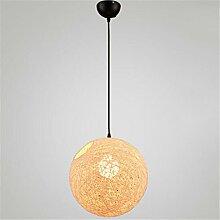 Orfila Globus Pendelleuchte LED-Dachboden Weben