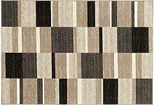 ORGANICAL AXIS moderner Woll Teppich Wollsiegel in