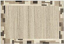 ORGANICAL PAN moderner Woll Teppich Wollsiegel in