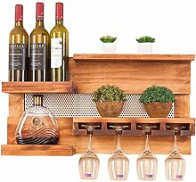 Organisieren Küche Küche Wand Weinregal Holz