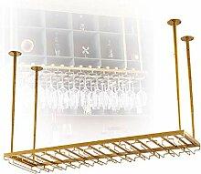 Organisieren Sie hängende Stielgläser Glashalter