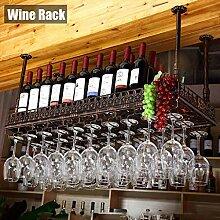 Organisieren Sie Küche Weinregal hängende Decke