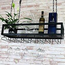 Organisieren Sie Küchendeckenregal Hängegestell