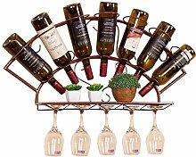 Organisieren Sie Küchenwand Weinregal Metall |7