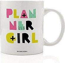 Organizer für Mädchen, Geschenk, Planer Addict