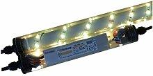 ORGON Gabionen Leuchte LED 360° 0,45m gelb