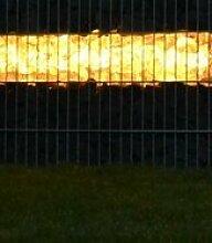 ORGON Gabionen Leuchte LED 360° 0,85m warm weiß,