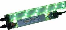 ORGON Gabionen Leuchte LED 360° 1,00m grün,
