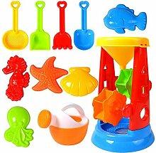 Orgrul Beach Sandspielzeug Kinder Spielzeug,