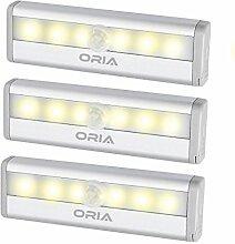 ORIA Schrankbeleuchtung Licht, 6 LEDs