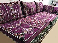 Orient Orientalische Sitzecke,Bodenkissen,Orientalische Sitzgruppe, Sitzecke,Yogakissen,Orientalisches Sofa,Sitzkissen Designs das Original aus dem Arabischen Golf