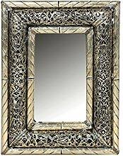 Orient Spiegel Wandspiegel Kifah 35cm groß Silber