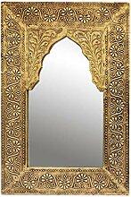 Orient Spiegel Wandspiegel Malik 42cm groß Gold |