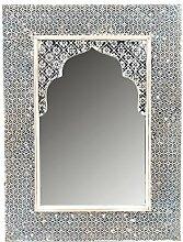 Orient Spiegel Wandspiegel Tasnim 60cm groß White