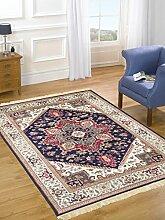 Orient Teppich Heriz Klassisch Teppich RUBINE