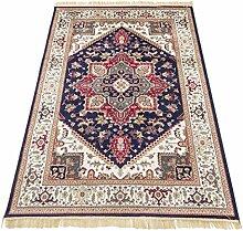 Orient Teppich Heriz Klassisch Teppich RUBINE 304-blu Cm.250x350 blau