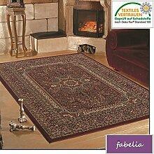 Orient Teppich Kollektion Marrakesh - Orientalisch-europäische Designs / klassisch und modern (300 x 400 cm, Granada / Rot 0207 )