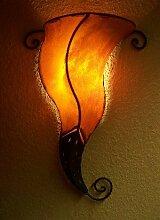 Orient Wandlampe Kurkuma Orange