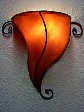 Orient Wandlampe Leuchte Lmape Marrakesch Orange