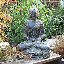Oriental Galerie Buddha Figur sitzend Skulptur