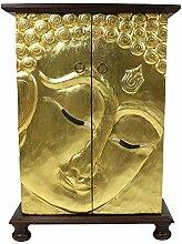 Oriental Galerie Buddha Schrank Wandschrank