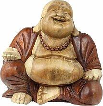 Oriental Galerie Happy Buddha-Figur China Skulptur