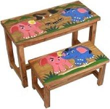 Oriental Galerie Kindertisch Kindermöbel Set Bank